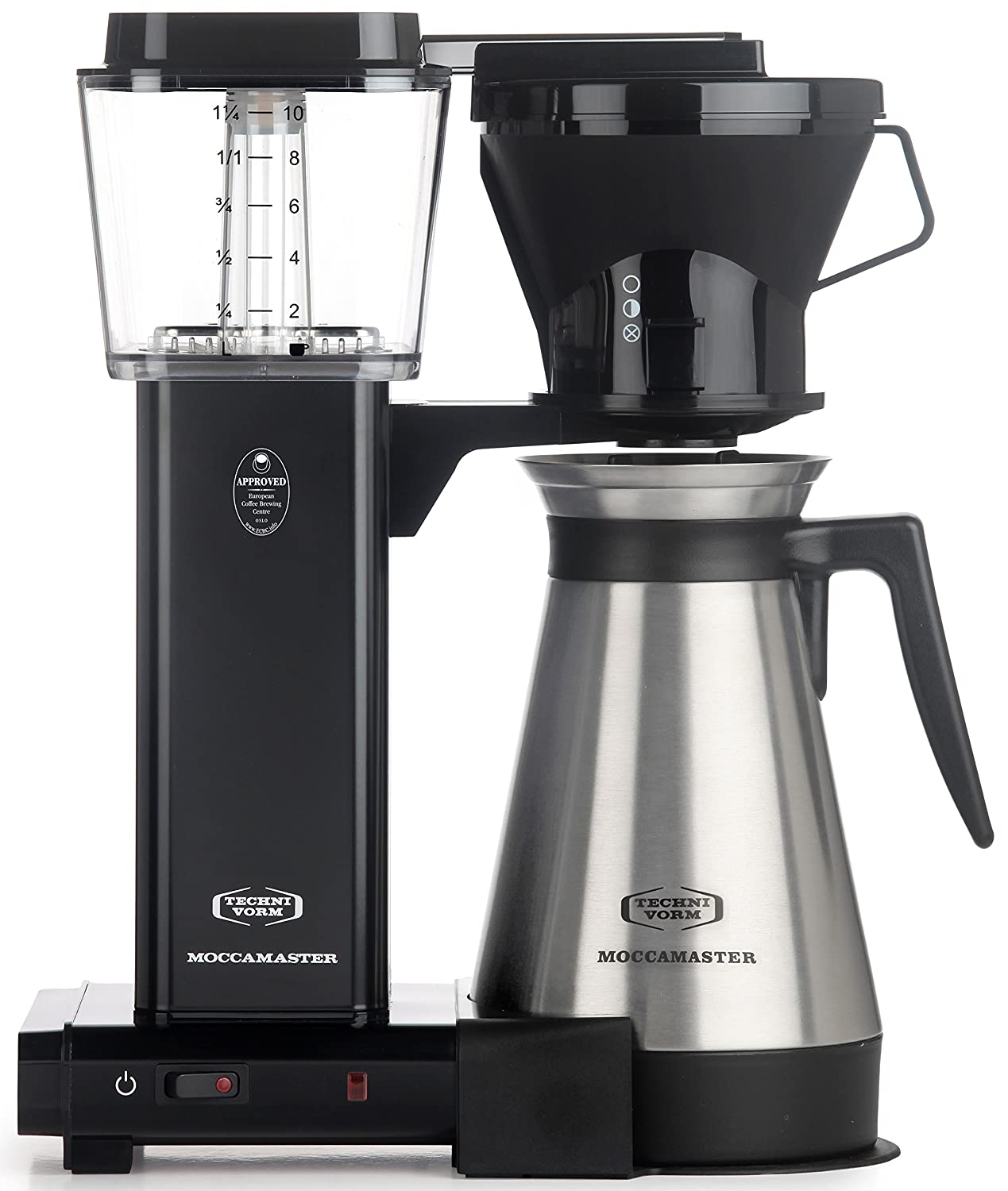 Technivorm Moccamaster 79114 KBT Coffee Brewer, 40 oz, Black
