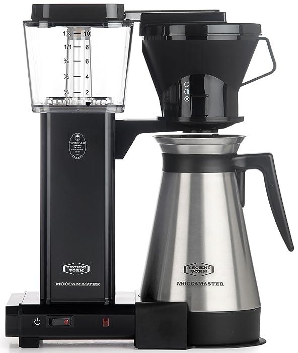 Technivorm Moccamaster 79114 KBT Coffee Brewer, 40 oz, Black
