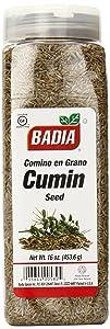 Badia Cumin Seed Whole, 16 Ounce