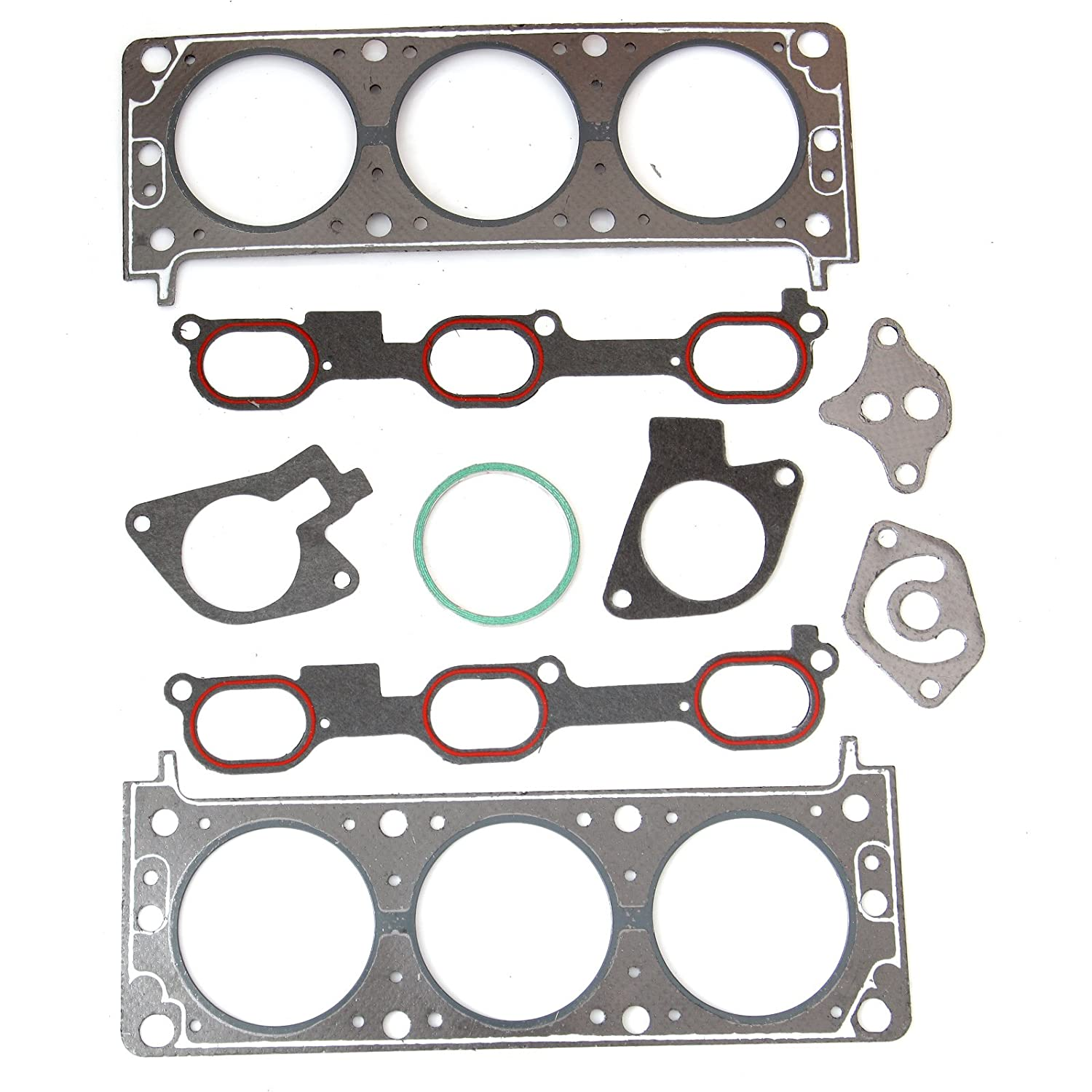 SCITOO Replacement for Head Gasket Kits Chevrolet Impala Buick Pontiac Oldsmobile 3.1L/3.4L Engine Head Gaskets Set Kit