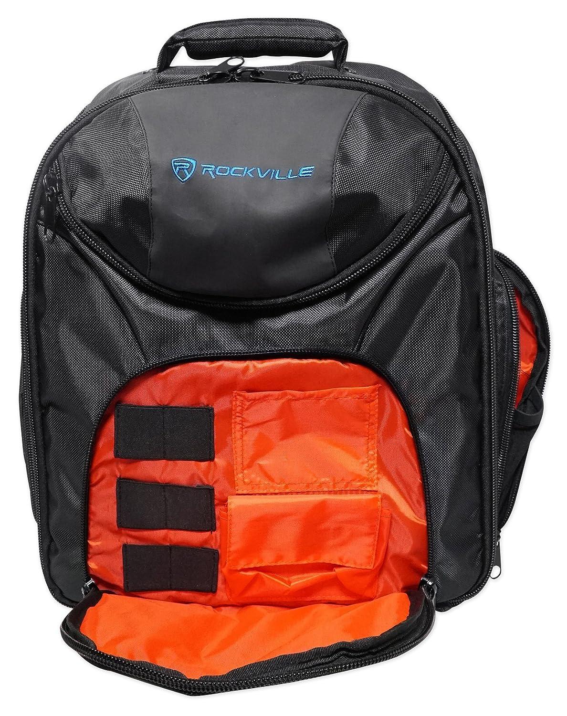 Rockville Travel Case Backpack Bag For Mackie DL1608 Mixer