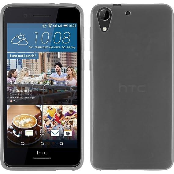 official photos 12c3c fcc1b Amazon.com: Silicone Case for HTC Desire 728 - Transparent White ...