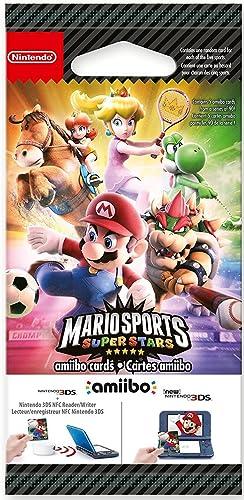 Nintendo - Pack De 5 Tarjetas Amiibo Mario Sports Superstars: Amazon.es: Videojuegos