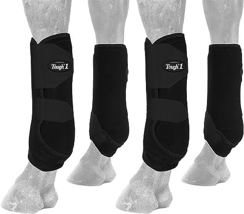 Elegant Extreme Vented Horse Sport Boots Set (Leg Wraps) [Tough 1] Picture