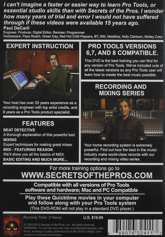 Amazon com: Pro Tools: Volume 1: Pro Tools: Movies & TV