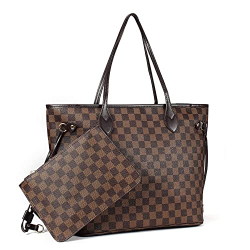 Amazon.com: Bolso de mano para mujer con bolsillo interior ...