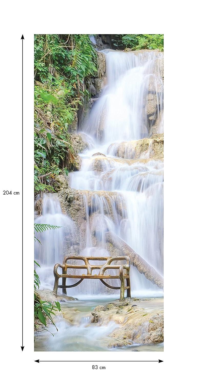 Cascade Ambiance-Live Sticker Porte 204 x 83 cm