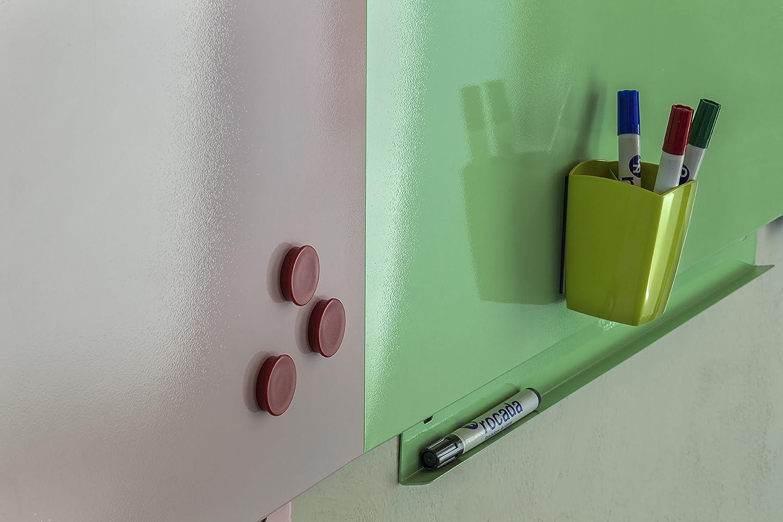 Rocada Magnettafel ohne Rahmen 75 x 1,5 x 115 cm grün: Amazon.de ...