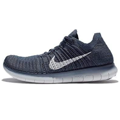 cheap for discount 43326 1144d Nike Mens Free Rn Flyknit, Coastal Blue White, 11. 5 M US  Buy Online at  Low Prices in India - Amazon.in