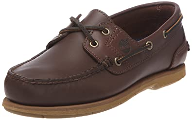 Timberland Classic 2-eye, Mocassins (loafers) homme, (Rootbeer Smooth 214), 45 EU