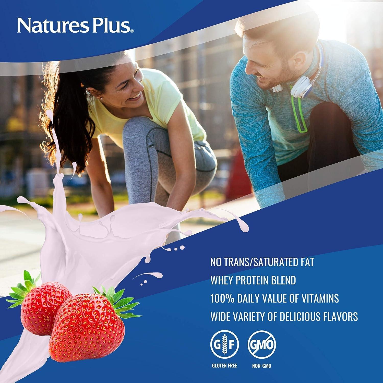 Amazon.com: Nature s Plus spirutein Fresa Whey Suplemento ...