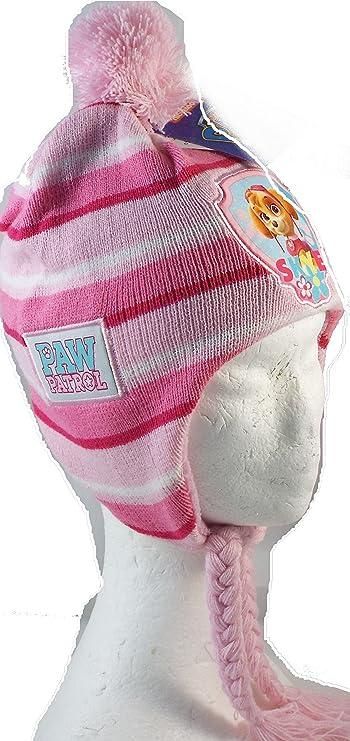 Bonnet péruvien Pat Patrouille- Paw Patrol fille - 3 coloris aléatoires.   Amazon.fr  Vêtements et accessoires 562ec88a9b3
