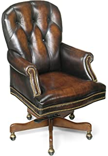 Superbe Hooker Furniture Marcus Executive Swivel Tilt Chair, Brown