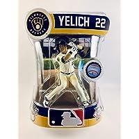 "$24 » Players Choice Academy TM Christian Yelich (Milwaukee Brewers) 2020 MLB 6"" Figure Imports Dragon"