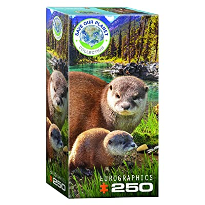 EuroGraphics Otters 250-Piece Puzzle: Toys & Games