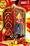 """Character Options Doctor Who 5"""" Action Figure - Rose Tyler with Two Robot Spiders"""