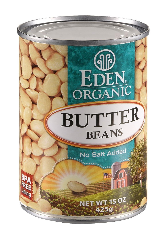 Eden Foods Organic Butter Bean, 15 Ounce - 12 per case.