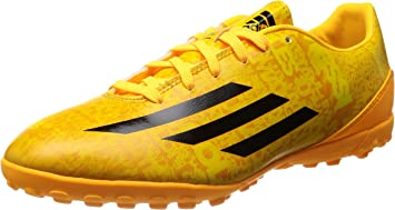 testimonio Ocupar cable  adidas F10 TF Messi Botas de fútbol de césped solar Gold-Black 2014 YCS,  color multicolor, talla 42 EU: Amazon.es: Zapatos y complementos