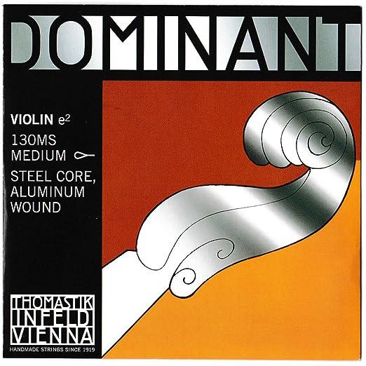 2 opinioni per Dominant Strings 130MS- Corda del Mi per violino 4/4, alluminio