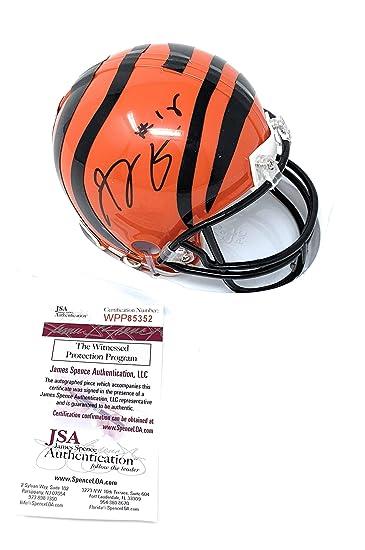 AJ Green Autographed//Signed Cincinnati Bengals XL Black Jersey JSA
