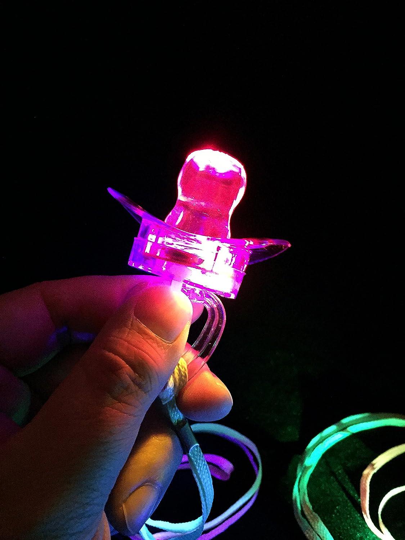 Amazon.com: WeGlow Internacional parpadear juguetes chupete ...