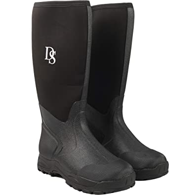 Men's Classic Rubber Work Boots  Mid