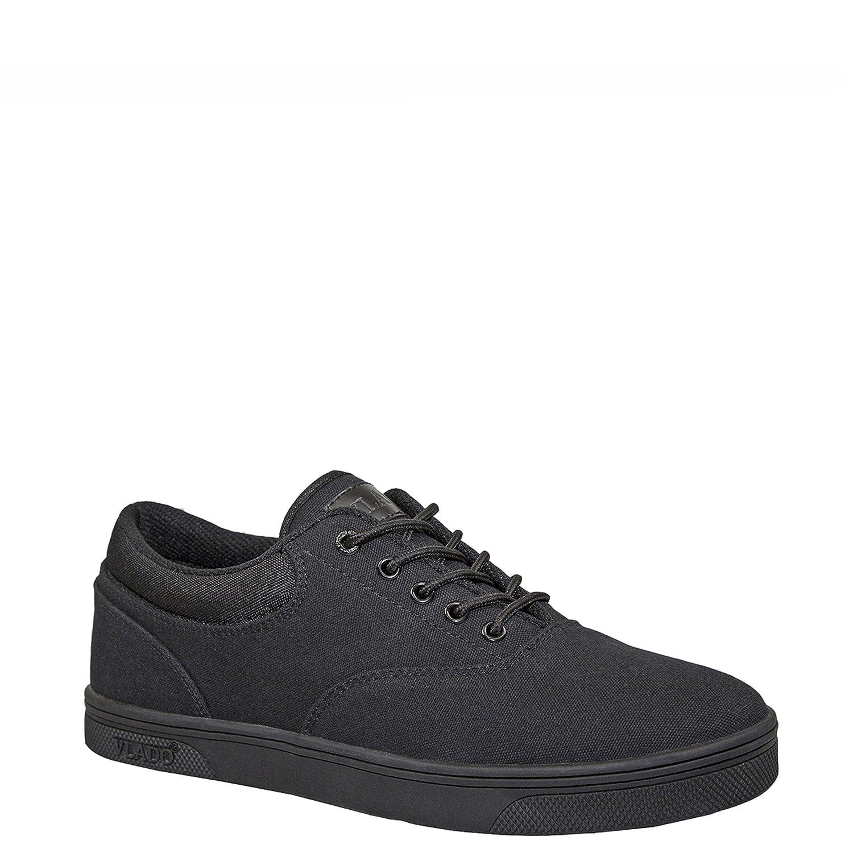 Vlado Footwear Boys Mono Black Milo Low Top Sneakers Size 6.5
