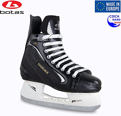Botas – Draft 281 – Men s Ice Hockey Skates Made in Europe Czech Republic Color Black