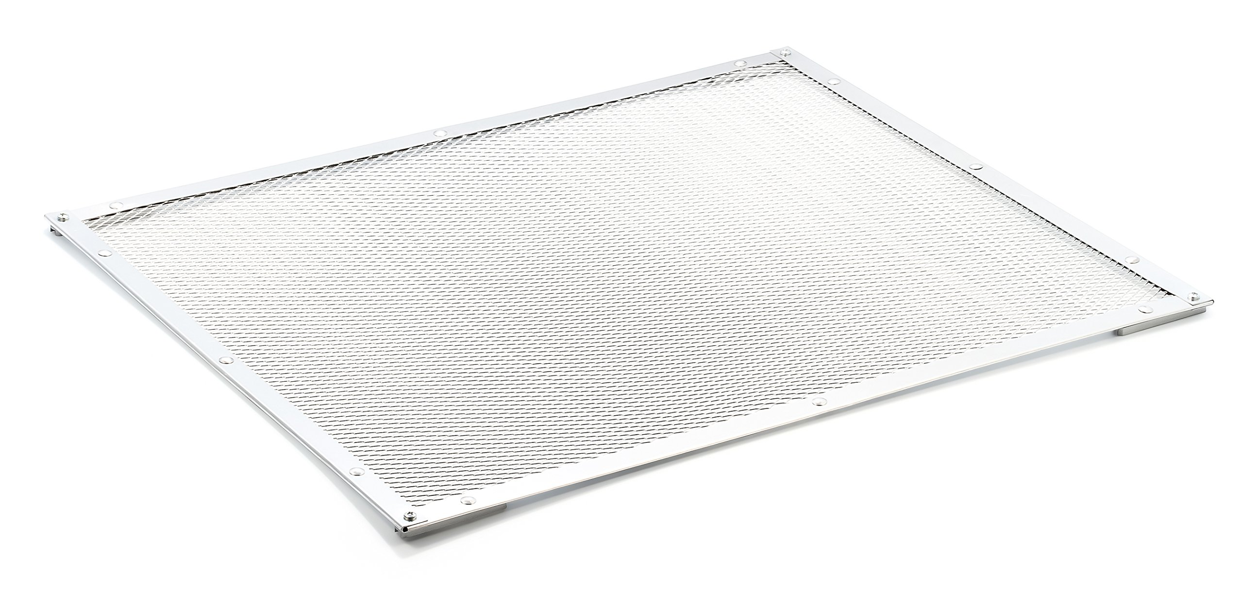 Camco 43981 Aluminum Screen Door Standard Mesh Grille - Protects Your RV's Screen Door, Anodized Aluminum Will Not Corrode by Camco (Image #3)