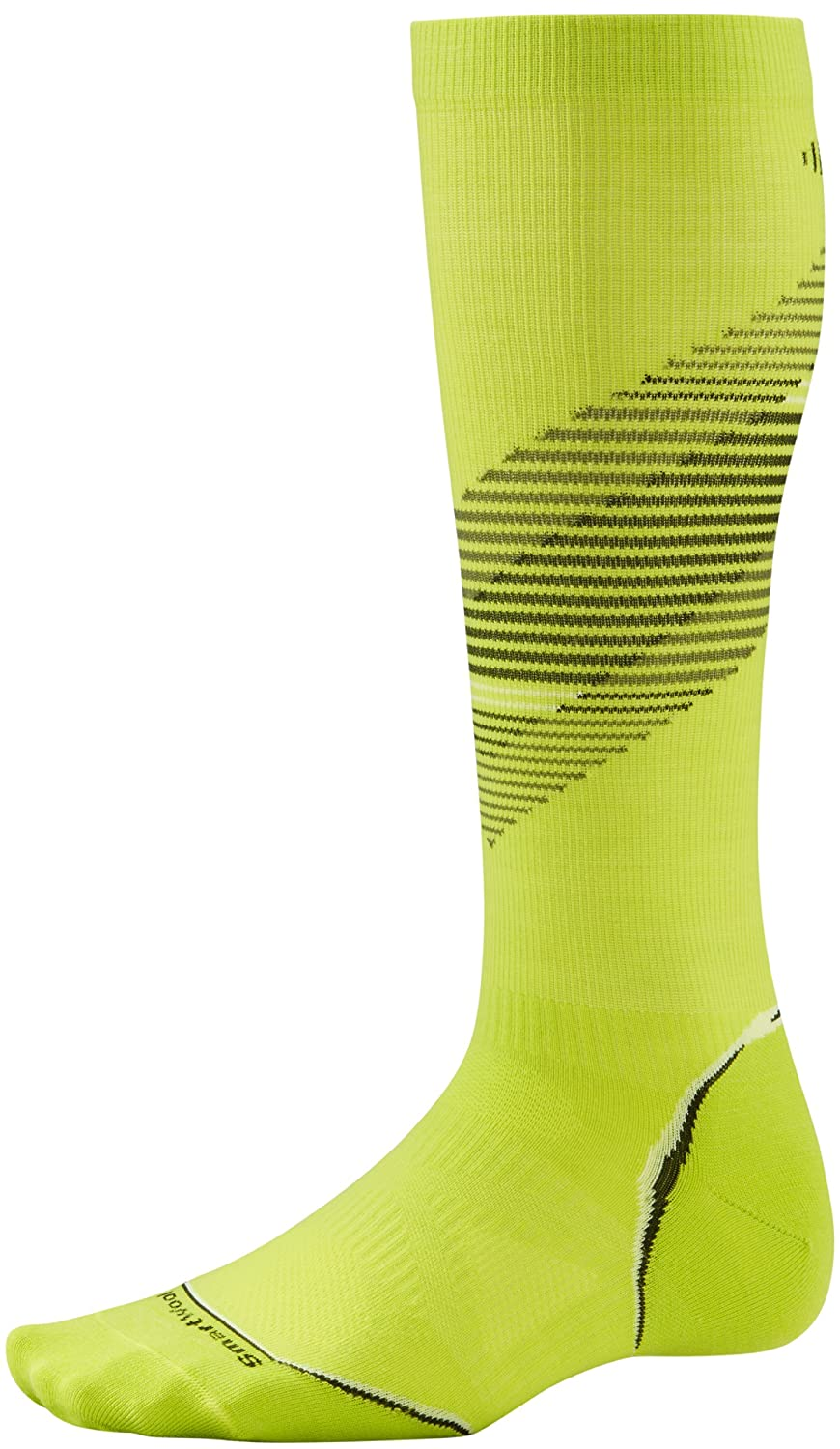 Smartwool PhD Run Graduated Compression Ultra Light Pattern Socks