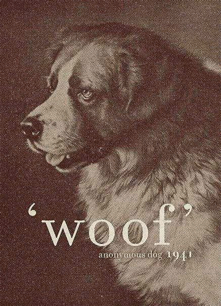 JUNIQE® Canvas prints 60x90cm Dogs Quotes & Slogans - Design