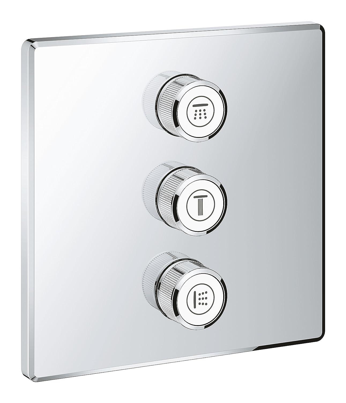 3-fach Unterputzventil Brause- und Duschsysteme 29127000 Grohe Grohtherm Smartcontrol