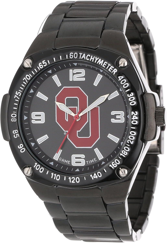 Game Time Unisex COL-WAR-OK Warrior Oklahoma Analog 3-Hand Watch