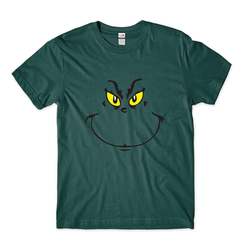 Camiseta con diseño de El Grinch, ideal para Navidad, para adultos y niños, Unisex: Amazon.es: Ropa y accesorios