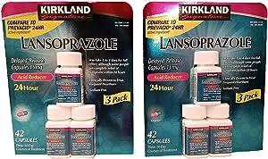 Kirkland Lansoprazole 3 Pack Delayed-Release Total 84 Capsules