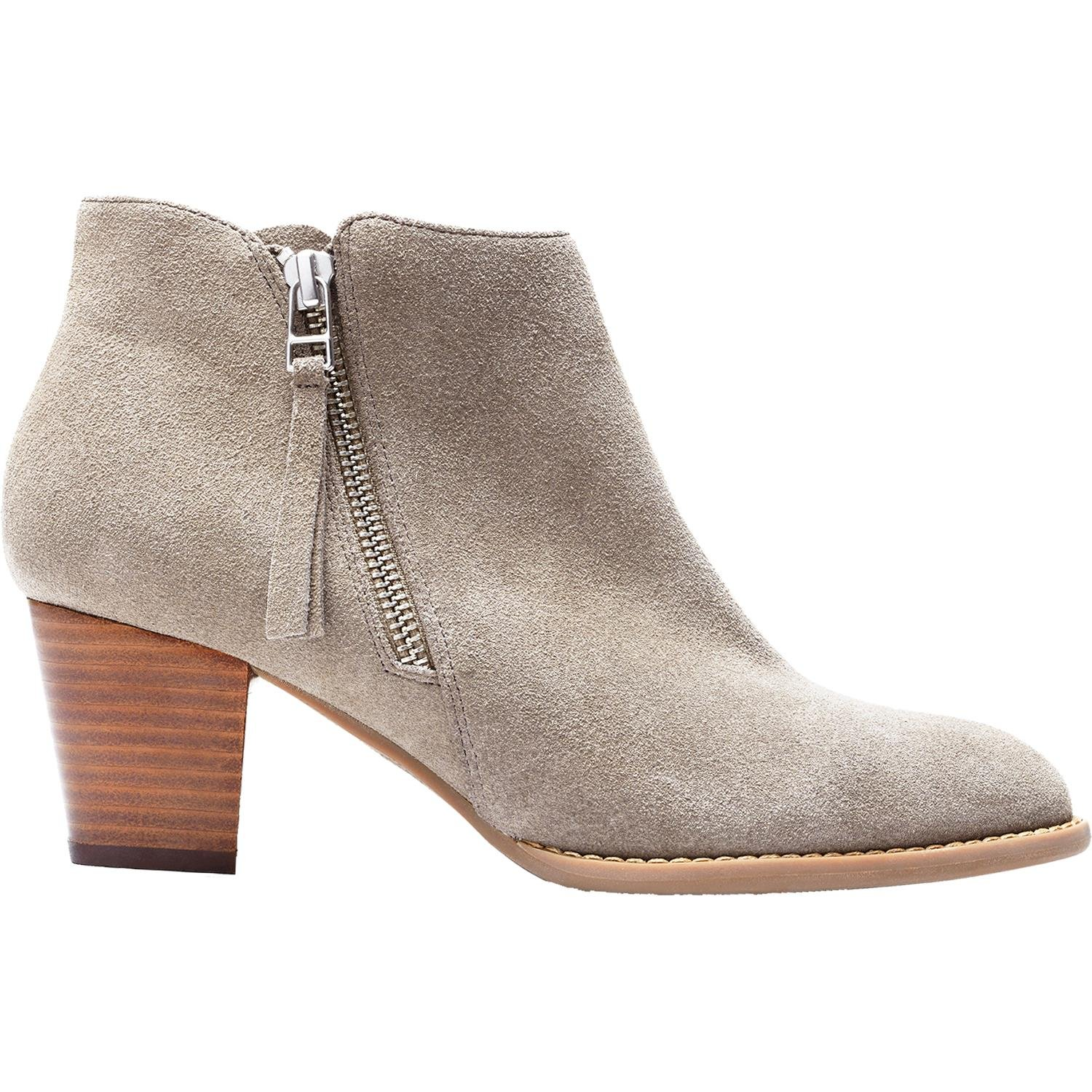 VIONIC Women's Upright Sterling Ankle Boot Greige Boot