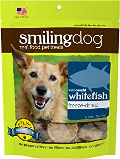product image for Herbsmith Smiling Dog Treats – Gluten, Grain Free – Made in US
