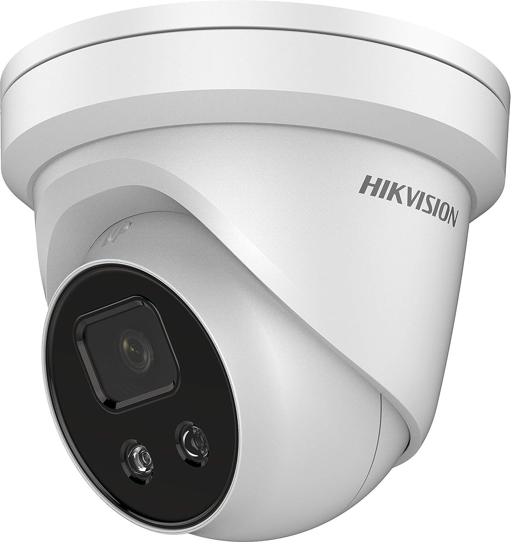 Hikvision Ds 2cd2346g2 I 2 8mm Ip Turret Überwachungskamera Mit Fehlalarmfilter Acusense Baumarkt