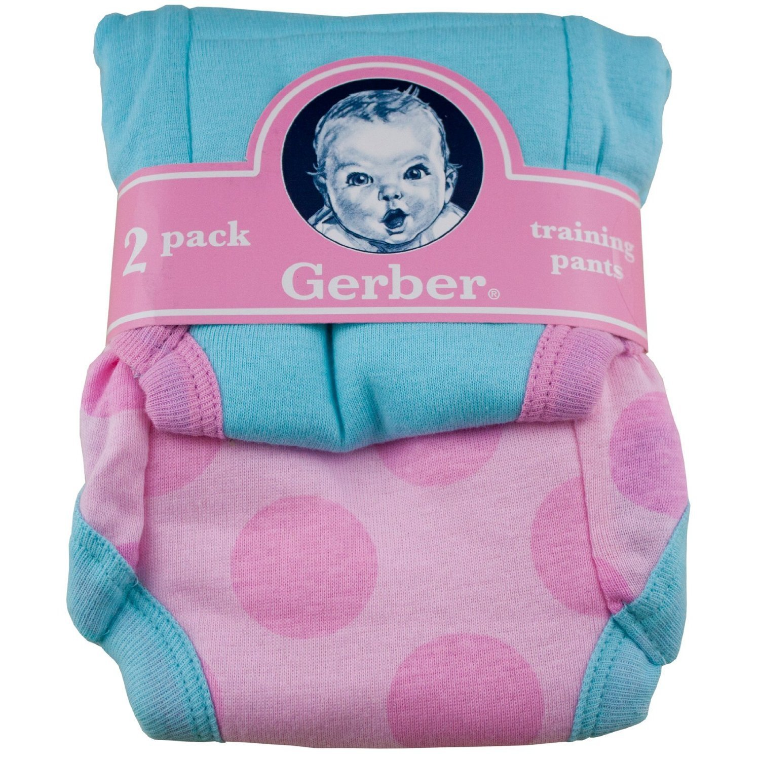 Gerber Potty Training Pants Pink 18M 584162060G1318I