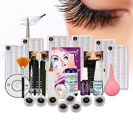 eea9d6125a9 Image Unavailable. Image not available for. Color: PAPE Professional False  Eye Lash Professional False Extension Eyelash Glue Brush Kit ...