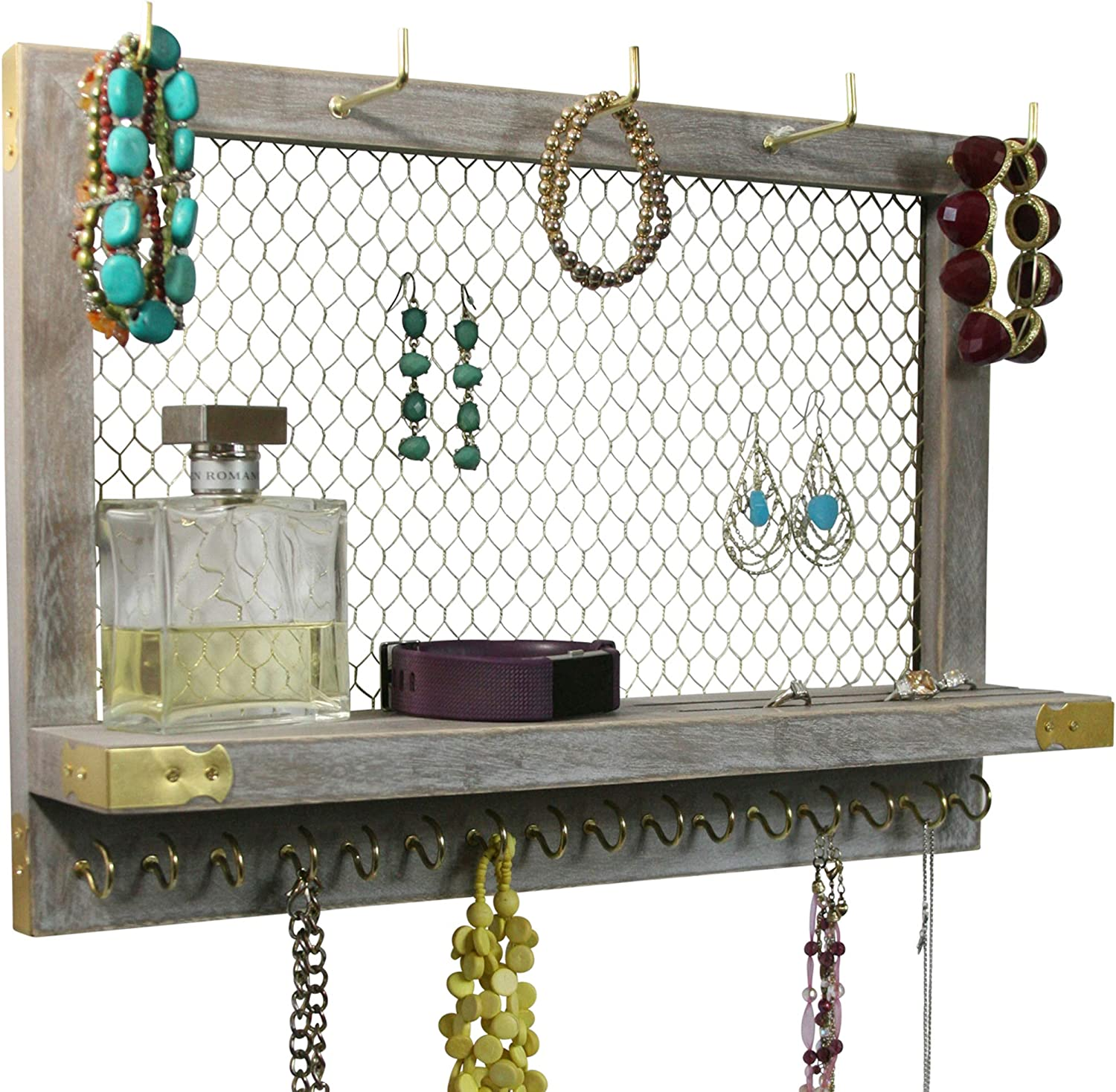 T Jewellery Stand Best Gift For Women Quality Gold Colour