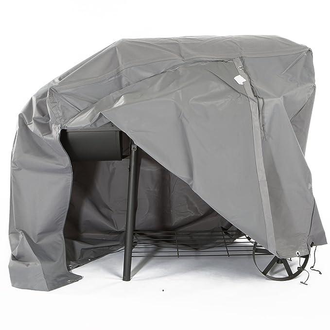 Ultranatura Sylt - Funda protectora de tejido, para barbacoa de gas o ahumadero, longitud 120 cm: Amazon.es: Jardín