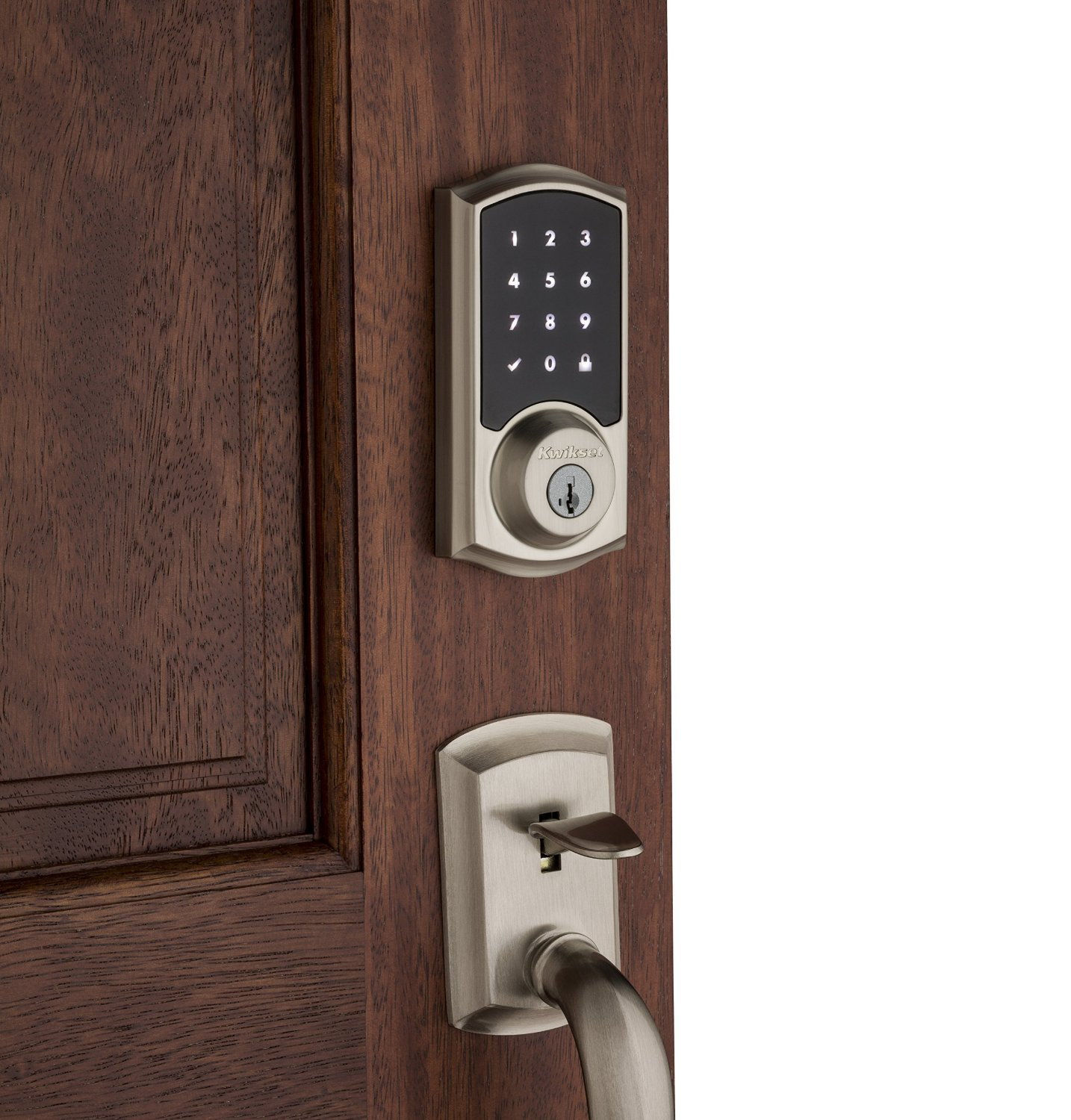bronze doors knob smartcode in door featuring electronic venetian deadbolt amazon com dp z ul kwikset wave smartkey