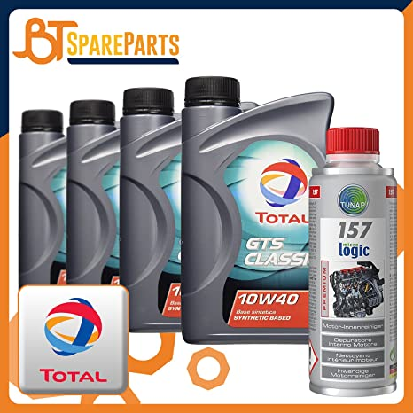 Aceite Motor Total GTS Classic 10 W40 + tunap 157 200 ml – LUBRICANTE Total Acea