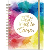 """Journal/Ruled Notebook - Ruled Journal with Premium Thick Paper, 6.4"""" x 8.5"""", Hardcover with Back Pocket + Banded…"""