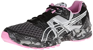 detailed look f2b74 d83ee ASICS Women s Gel-Noosa Tri 8 Running Shoe,Storm Lightning Petal Pink