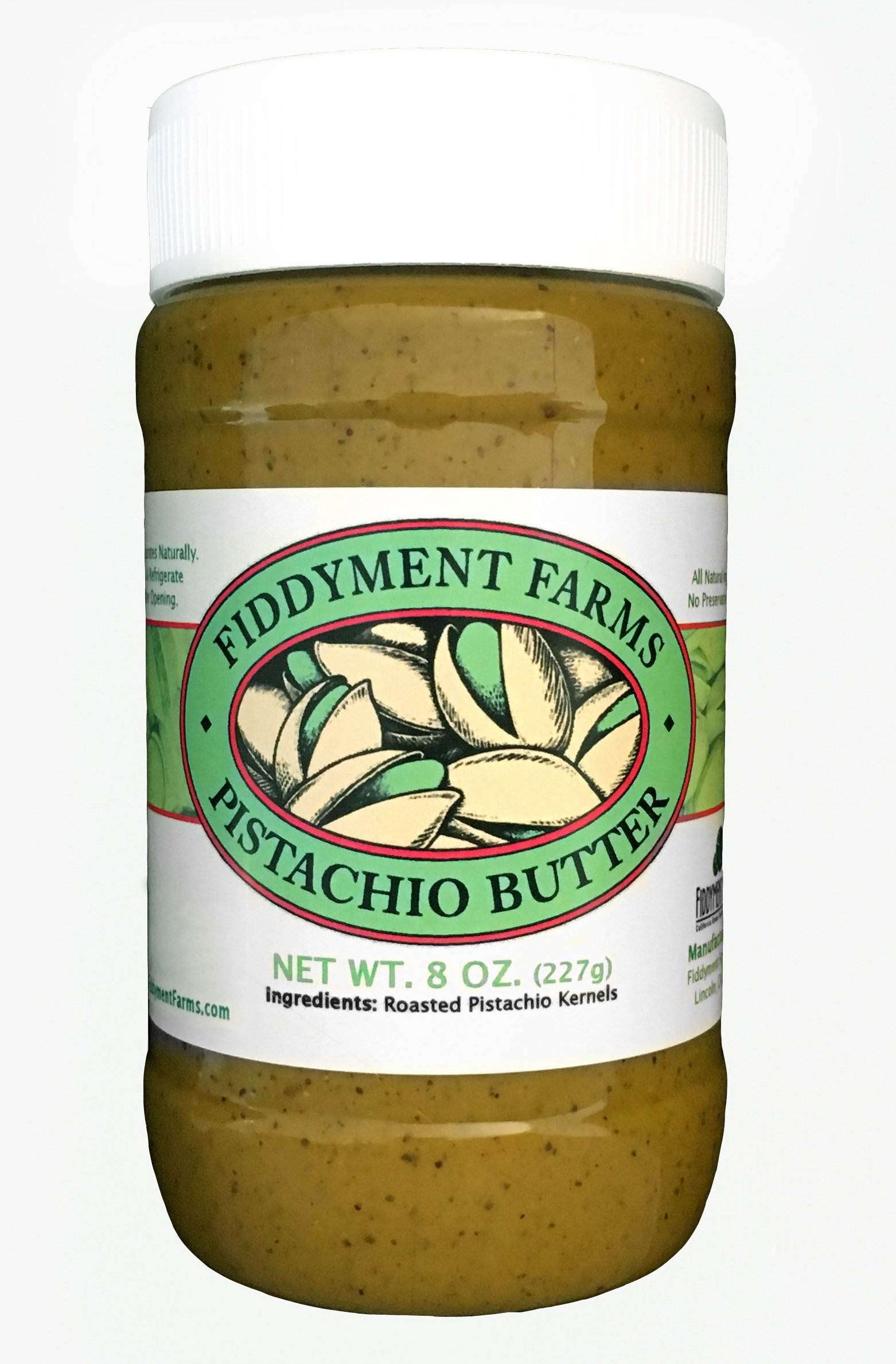 Fiddyment Farms 8 OZ. Pistachio Butter