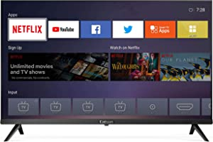 Caixun C32 32-Inch 720p Smart LED HD TV - Flat Screen Television Built-in HDMI,USB,Earphone,Optical,Ethernet Ports - Support Screen Cast Mirroring - Refresh Rate 60Hz (2020 Model)