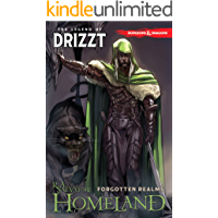 Dungeons & Dragons: The Legend of Drizzt Vol. 1: Homeland book cover