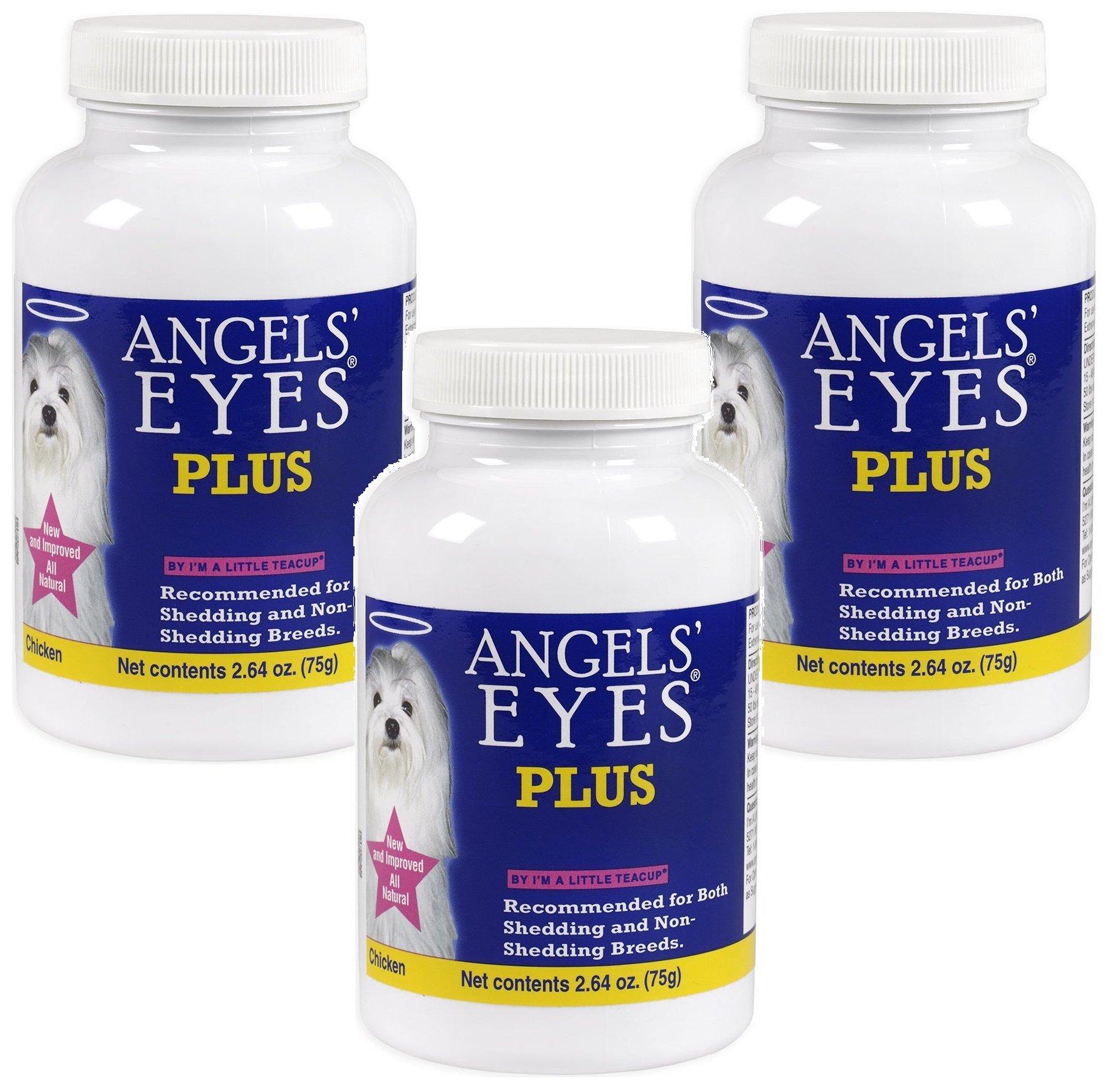 (3 Pack) Angel Eye's Plus Tear Stain Powder by Angel's Eyes